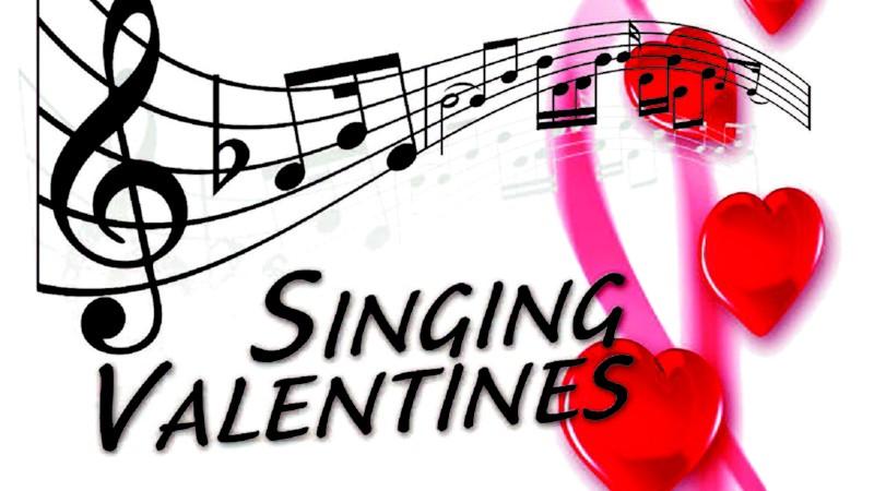 BIG CHICKEN BARBERSHOP CHORUS OFFERS SINGING VALENTINES