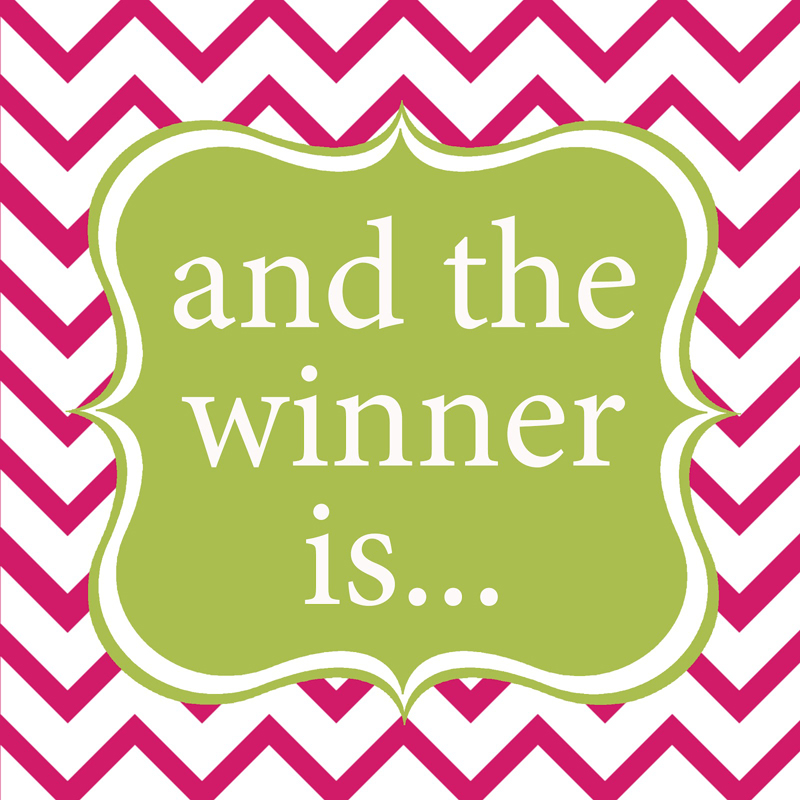 Jennifer Toner IS THE WINNER OF THIS WEEK'S FACEBOOK FRIDAY FREEBIE!!