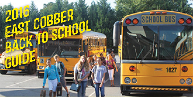 EAST COBBER's 2016 Back to School Guide