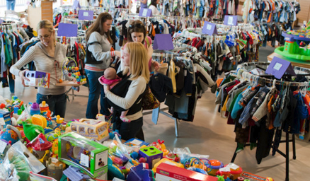 CONSIGNMENT SALES SCHEDULED FOR SPRING