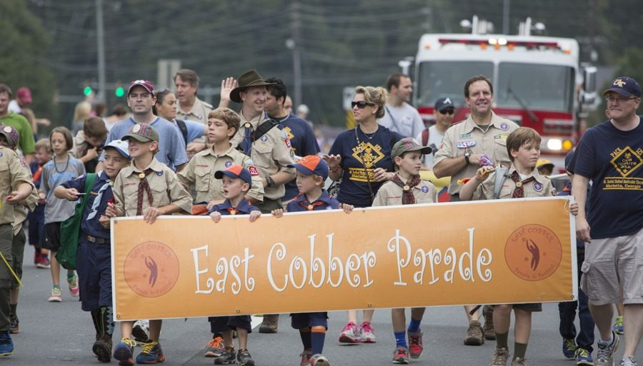 Find A Familiar Face! Look Who's In This Year's EAST COBBER Parade