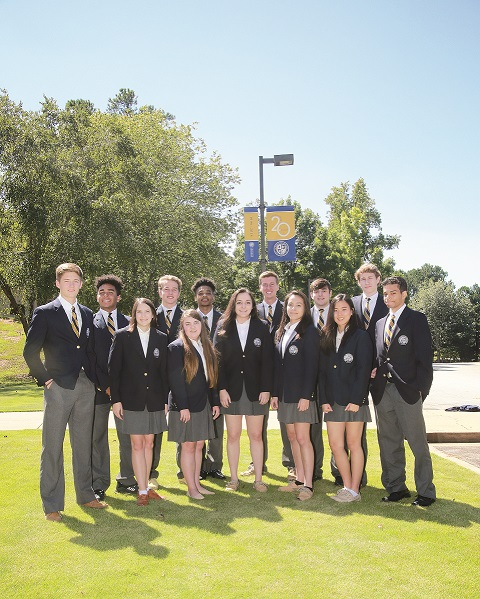 Look Who's on the October Cover: Mt. Bethel Christian Academy Class of 2018!