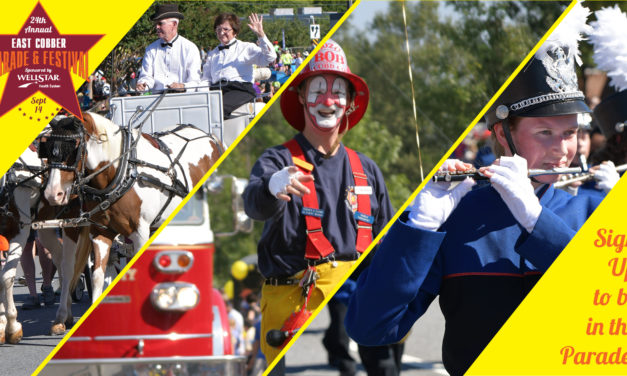 You're Invited!!! Be A Part of This Year's EAST COBBER Parade: Sept. 14