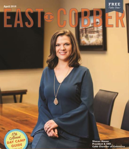 Look Who's on the Cover! Sharon Mason, President & CEO of Cobb Chamber of Commerce