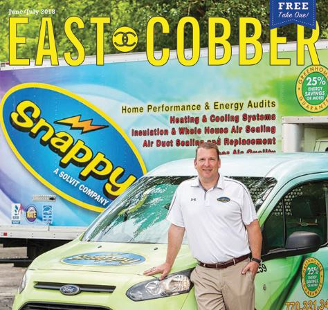 Look Who's on the Cover! Adam Bunyard, Owner of Snappy Services