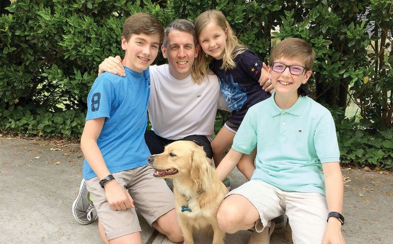 Steve Pyburn: EAST COBBER Father of the Year 2018