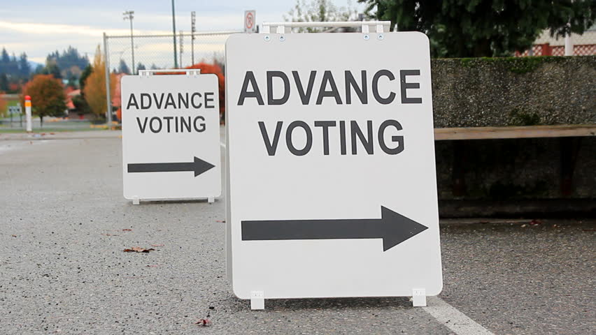 Advance Voting Begins Today
