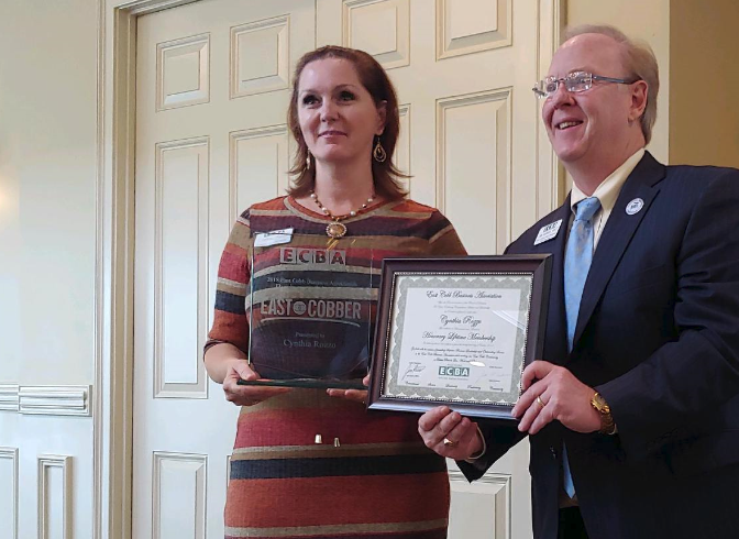 EAST COBBER Magazine Awarded Business of the Year