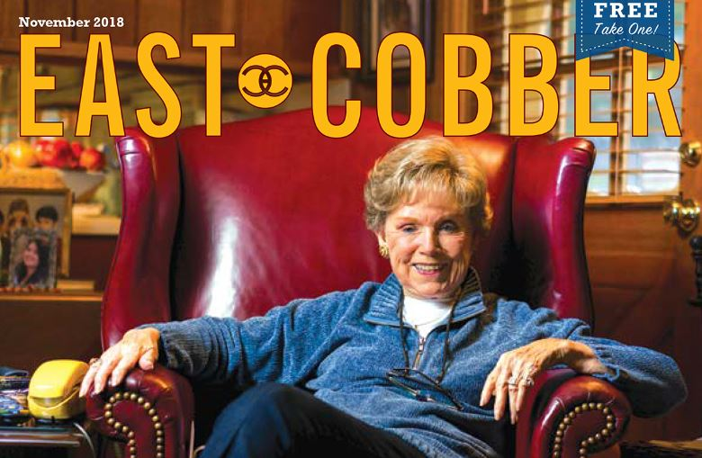 Look Who's On The Cover! Longtime East Cobb Resident, Wylene Tritt