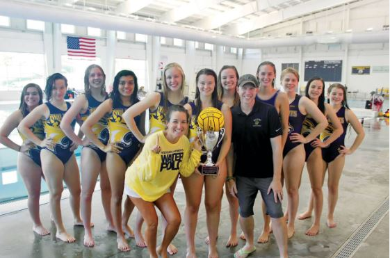 WHEELER WOMENS WATER POLO TEAM WIN STATE