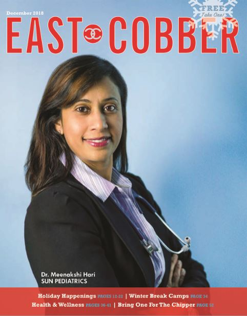 Look Who's on the Cover! Dr. Meenakshi Hari, Founder of Sun Pediatrics