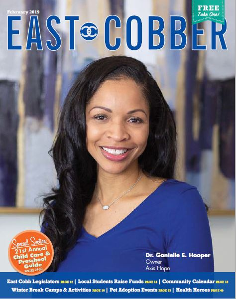 Look Who's on the Cover! Dr. Ganielle E. Hooper, Owner of Axis Hope!