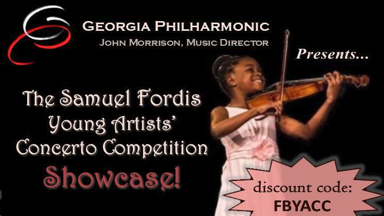 ***Facebook Friday Freebie***  Win Tickets to Georgia Philharmonic's Concerto Competition Showcase!