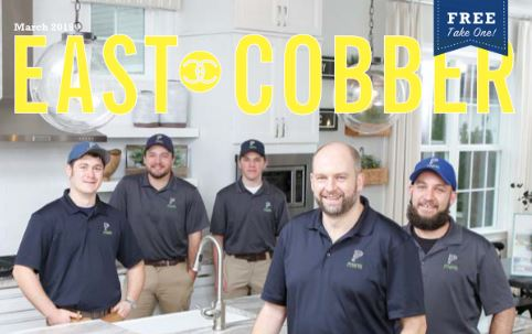Look Who's on the Cover! Panacea Plumbing Owner, John White, and His Team!