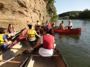 Guided Canoe Trips on the Chattahoochee River