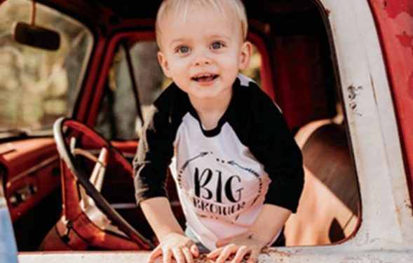 EAST COBB TODDLER TAPPED AS CYSTIC FIBROSIS AMBASSADOR FOR CARS & 'Q FOR THE CAUSE