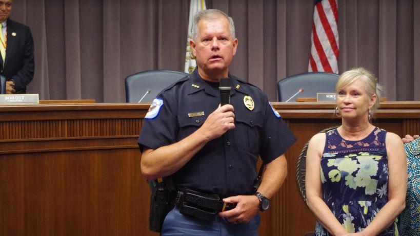 Board Names Tim Cox Next Cobb Police Chief