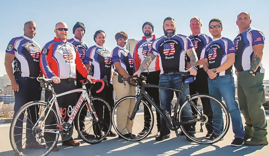 POLICEMEN TO HONOR FALLEN OFFICERS IN CHARITY BIKE RIDE