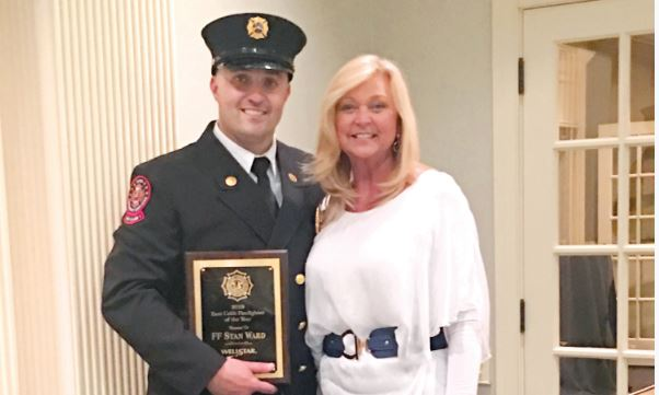 STAN WARD NAMED EAST COBB FIREFIGHTER OF THE YEAR