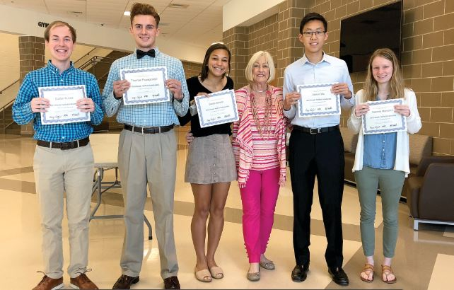 EAST COBB COUNTY COUNCIL OF PTAs RECOGNIZES OUTSTANDING SENIORS