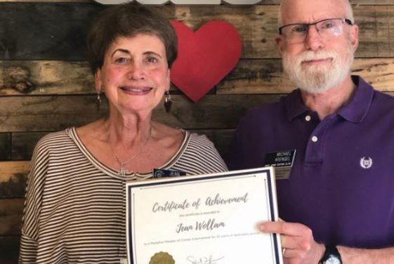 EAST COBBER HONORED FOR 25 YEARS OF SERVICE