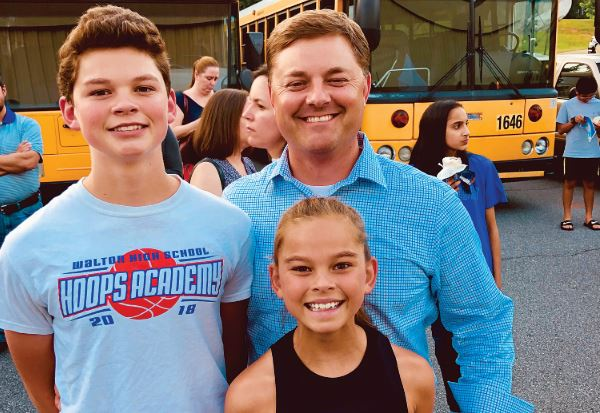 Jeff Brown: 2019 EAST COBBER Father of the Year!
