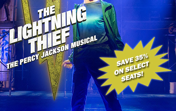 The Lightning Thief: The Percy Jackson Musical Comes to Cobb Energy Performing Arts Centre This Weekend