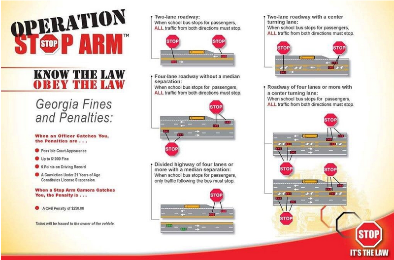 """""""Operation Stop Arm"""" Law Keeps Our Students Safe"""