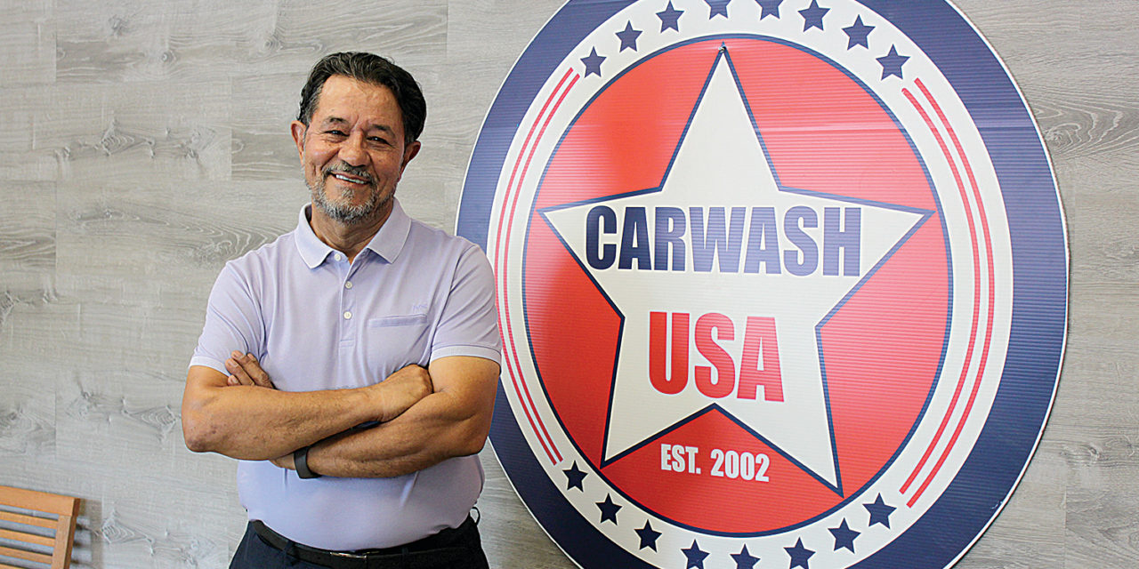 CAR WASH USA IS BACK AT A NEW LOCATION