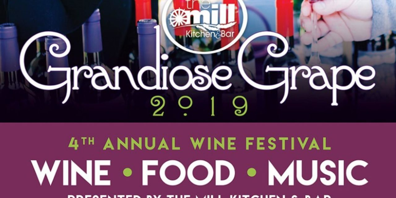 ! ! ! Facebook Friday Freebie ! ! ! Win 2 Tickets To This Saturday's Grandiose Grape Wine Event