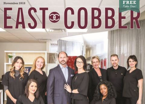 Look Who's on the Cover! It's CAS Med Spa Owners and Staff!