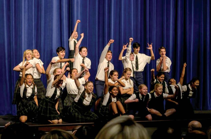 WALTON HS OPENS NEW THEATER WITH MATILDA THE MUSICAL 2