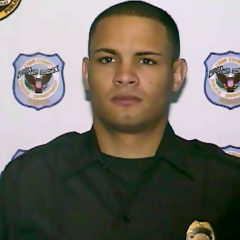 OFFICER TAYLOR EVENING WATCH OFFICER OF THE YEAR