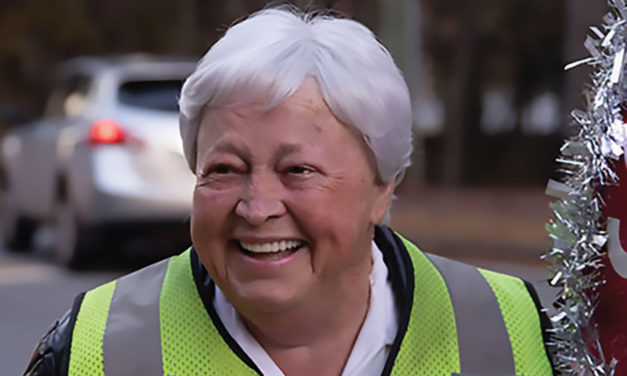 ALICE MEDLIN NAMED  CROSSING GUARD OF THE YEAR