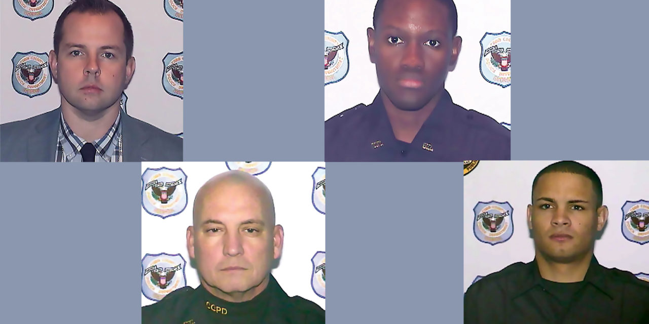 EAST COBB POLICE OFFICERS OF THE YEAR AWARDS