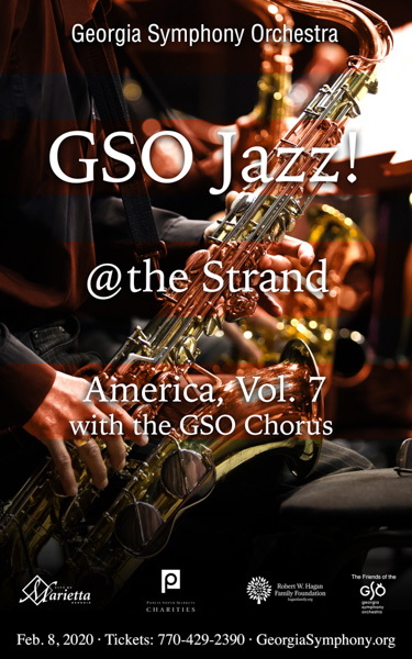 "*Facebook Friday Freebie! Enter To Win Two Tickets to ""GSO Jazz @ the Strand: America, Vol. 7 with the GSO Chorus"""