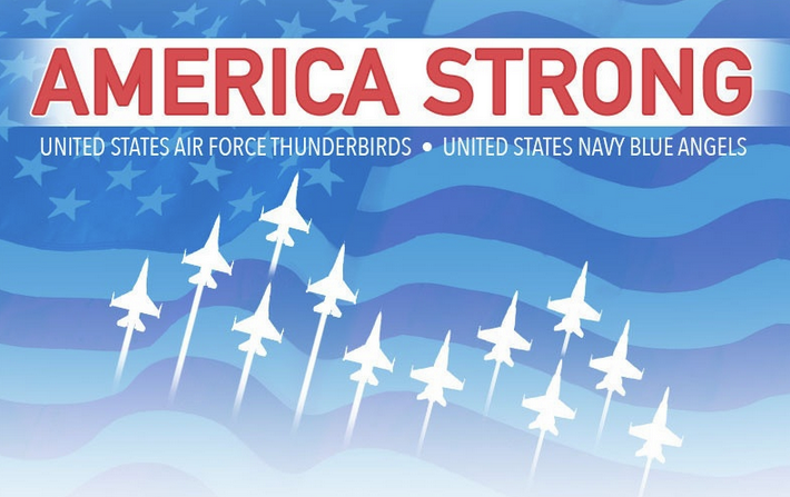 Blue Angels + Thunderbirds to Salute COVID-19 Responders