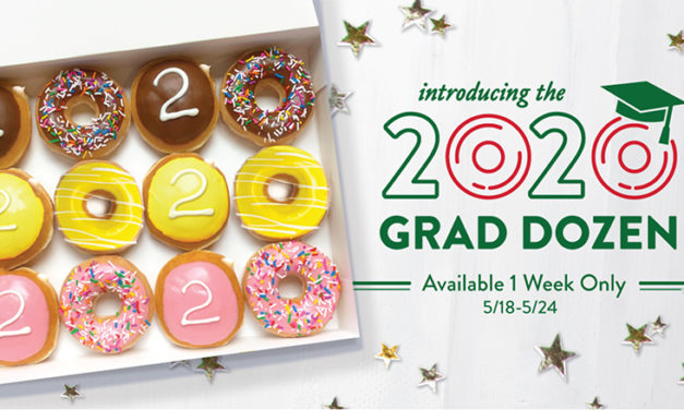 CAPS AND GOWNS … AND DOUGHNUTS! FREE on 5/19 for Graduating Seniors