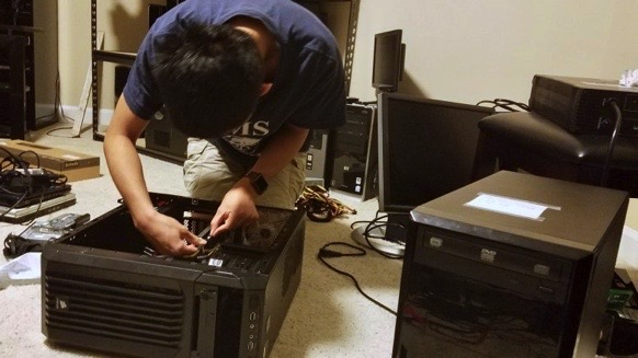 Wheeler HS Students Offer Free Computer Repairs to Cobb Families