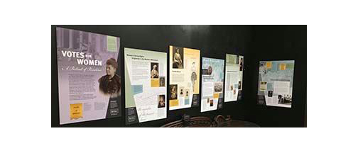 Marietta Museum of History Presents Votes for Women: A Portrait of Persistence  Poster Exhibition