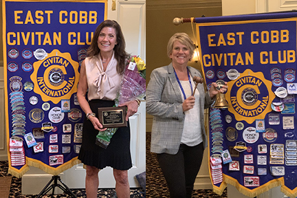 East Cobb Civitan Club Elects New President with Big Plans and a Love of Frozen Yogurt