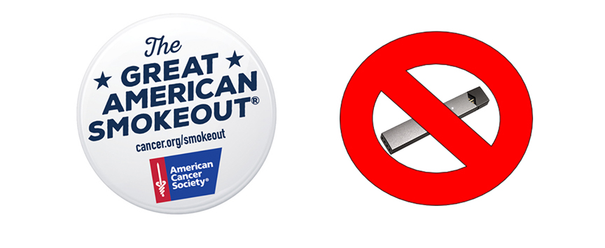 THE GREAT AMERICAN SMOKEOUT: NOVEMBER 19