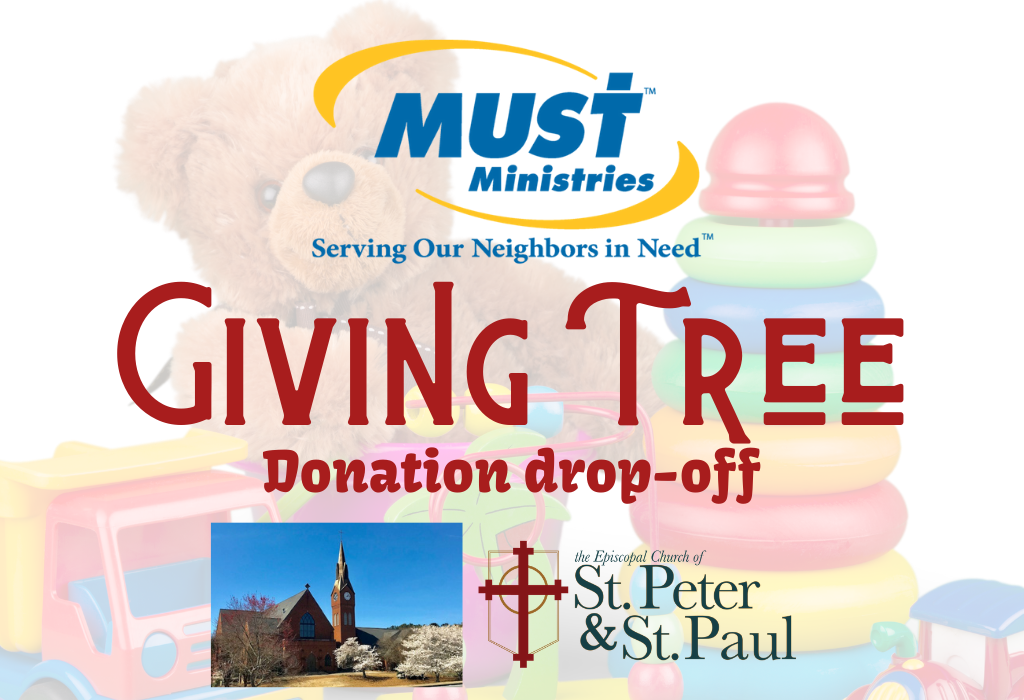 MUST Ministries Christmas Gift Donation Drop-off