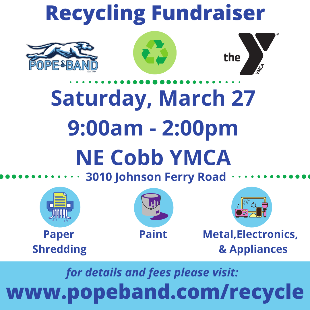 Pope High School Band Recycling Fundraiser 1
