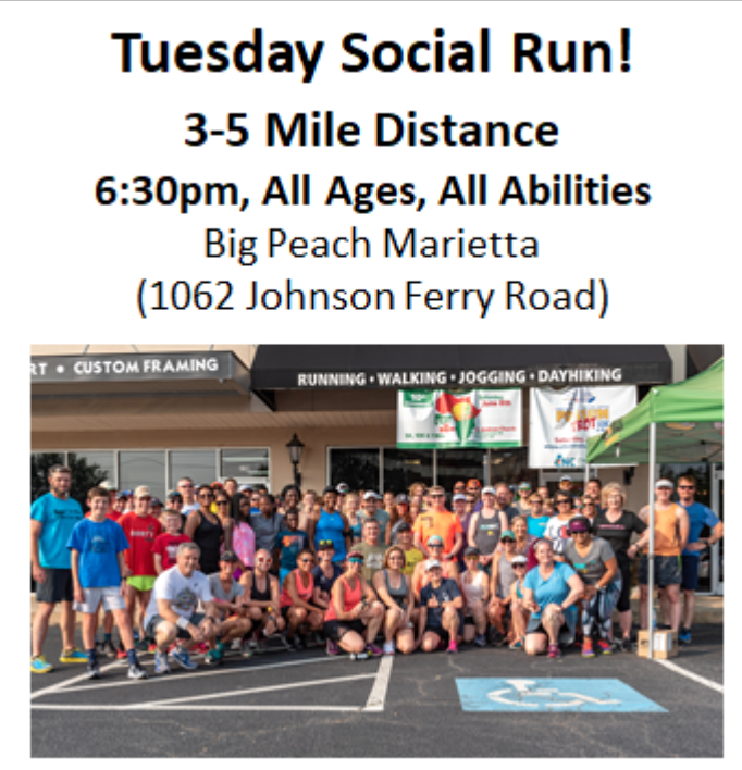 Tuesday Social Run