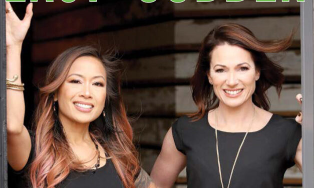 LOOK WHO'S ON OUR FRONT COVER: CHRISTINE LOVE & RANDI SONIKER OF COMPASS