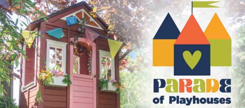 FIRST ANNUAL PARADE OF PLAYHOUSES ON DISPLAY AT TOWN CENTER MALL