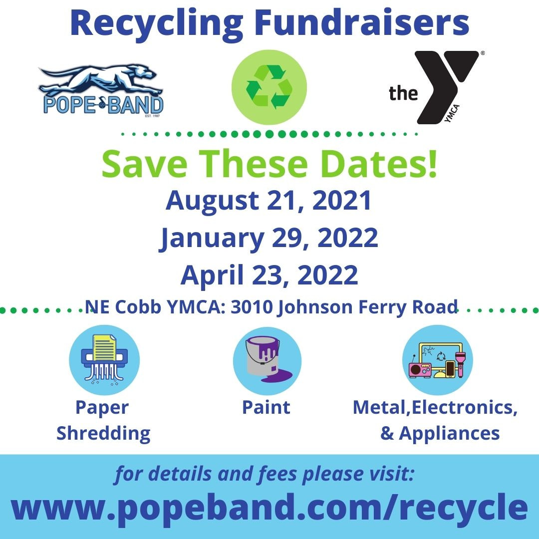 Pope Band Recycling Fundraiser
