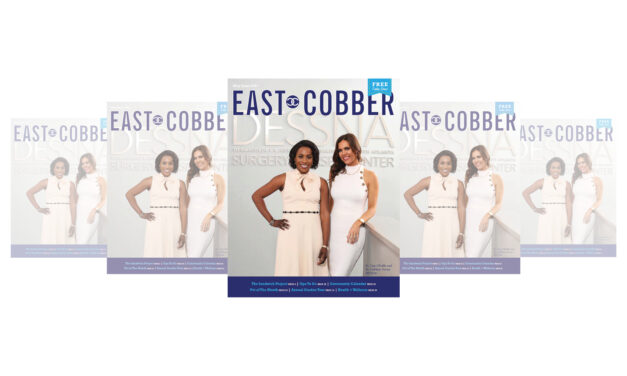 LOOK WHO'S ON OUR FRONT COVER: DR. OPE OFODILE & DR. KATHLEEN VISCUSI OF DESSNA