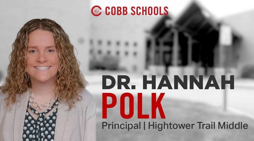 New Principal Profile Q&A: Dr. Hannah Polk, Hightower Trail Middle School
